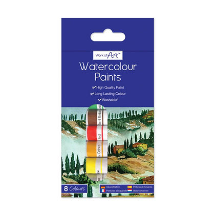 Water Colour Paints (8 Colours)