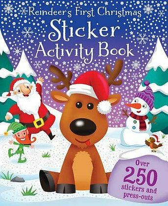 Reindeer's First Christmas Sticker Activity Book