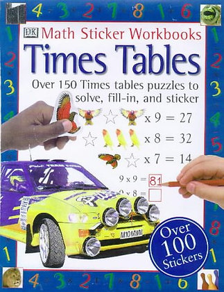 Times Tables (Maths Sticker Workbooks) Key Stage 2 Ages 7-11