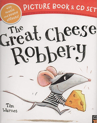 The Great Cheese Robbery (Picture Book and CD Set)