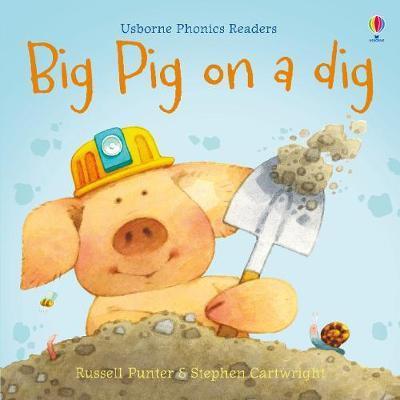 Usborne Phonics Readers: Big Pig On A Dig