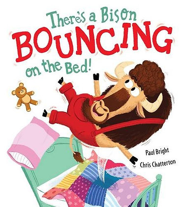 There's a Bison Bouncing on the Bed (Hardback)