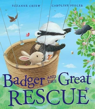 Badger and the Great Rescue (Hardback)