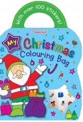 Christmas Colouring & Sticker Bag Book