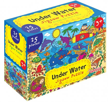 Under The Sea 25 Pieces Jigsaw Puzzle