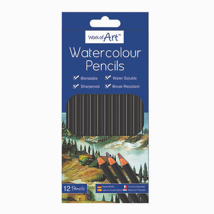 Water Colour Pencils (12 Pack)
