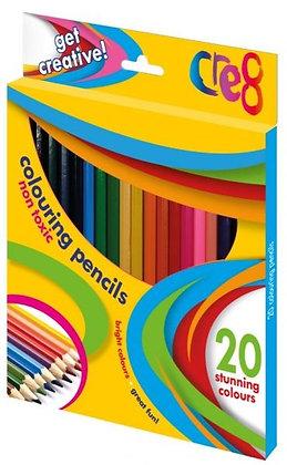 Colouring Pencils (20 Pencils)