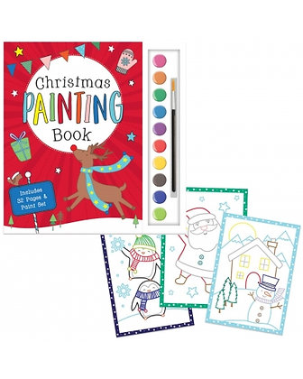 Christmas Painting Books and Paint Set