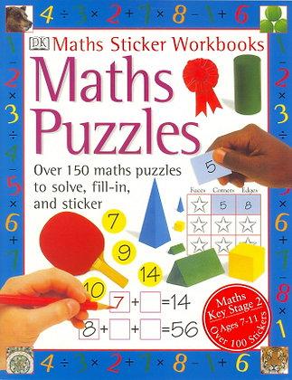 Maths Puzzles (Maths Sticker Workbooks) Key Stage 2 Ages 7-11