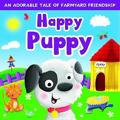 Happy Puppy (Hardback)