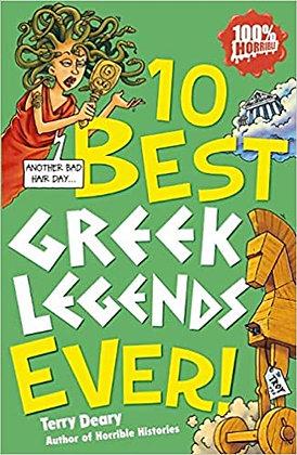 10 Best Greek Legends Ever!