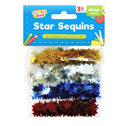 Star Sequins (600 pack)