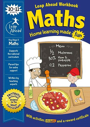 Maths (Leap Ahead Workbook) 10-11 Years