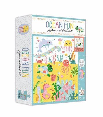 Ocean Fun Jigsaw And Book Set