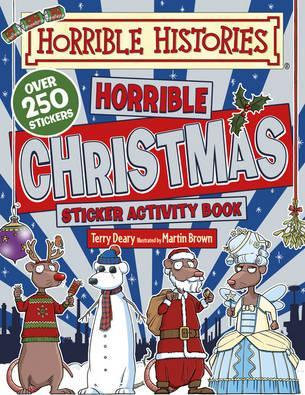 Horrible Histories: Horrible Christmas Sticker Activity Book