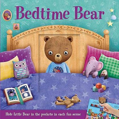 Bedtime Bear - Hide Little Bear in the pockets in each fun scene