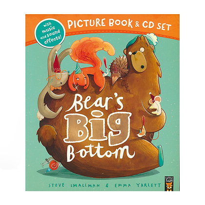 Bear's Big Bottom (Picture Book and CD Set)