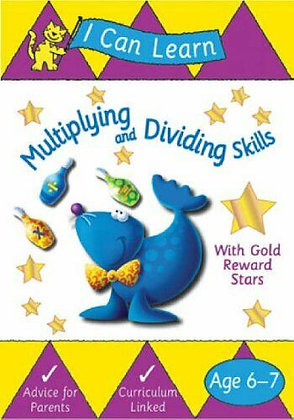 Multiplying and Dividing Skills Workbook (Ages 6-7)