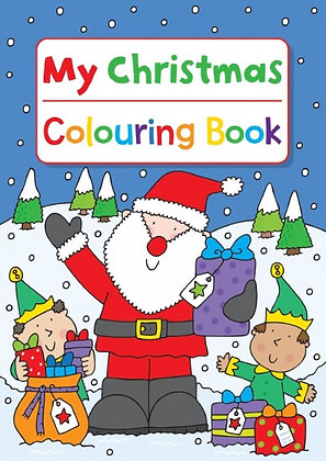 My Christmas Colouring Book (Father Christmas)