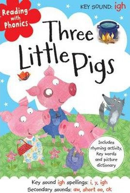 Three Little Pigs (Reading With Phonics) (Hardback)