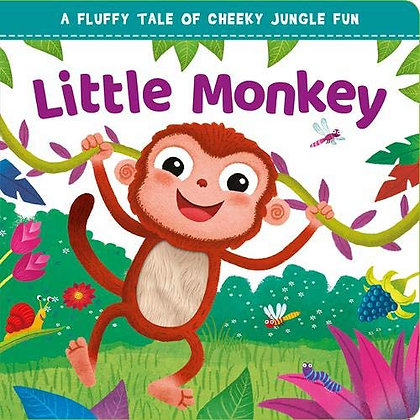 Little Monkey (Touch and Feel Board Book)