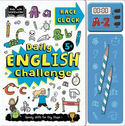 Race The Clock - Daily English Challenge (5+)