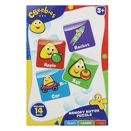 Cbeebies Memory Match Puzzle