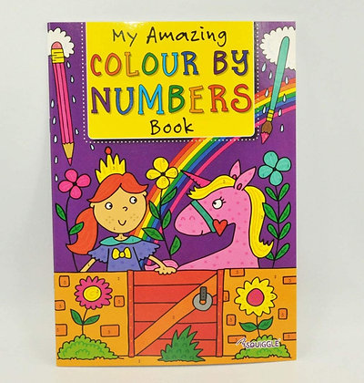 Colour By Numbers (Purple Cover)