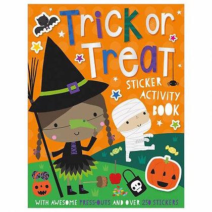 Trick or Treat Sticker Activity Book