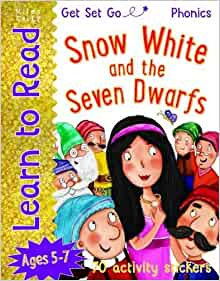 Snow White and the Seven Dwarfs (Learn To Read Get Set Go) Ages 5-7