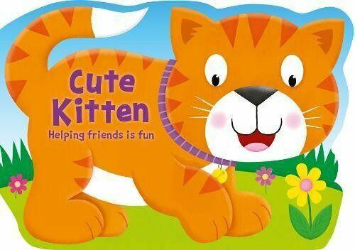 Cute Kitten (Board Book)