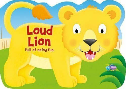 Loud Lion (Board Book)