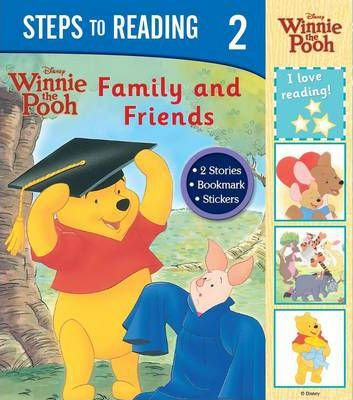 Steps To Reading: Winnie The Pooh Family and Friends