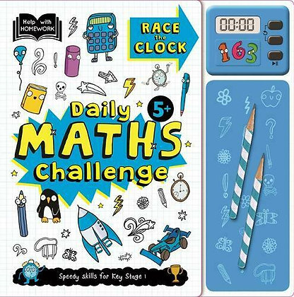 Race The Clock - Daily Maths Challenge (5+)