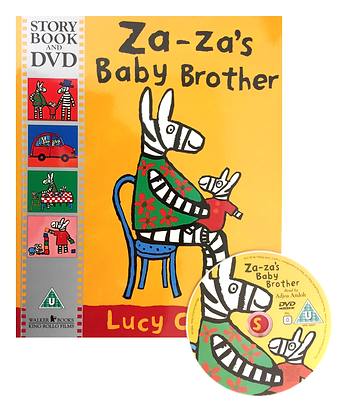 Za-Za's Baby Brother (Story Book and DVD)