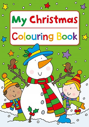 My Christmas Colouring Book (Snowman)