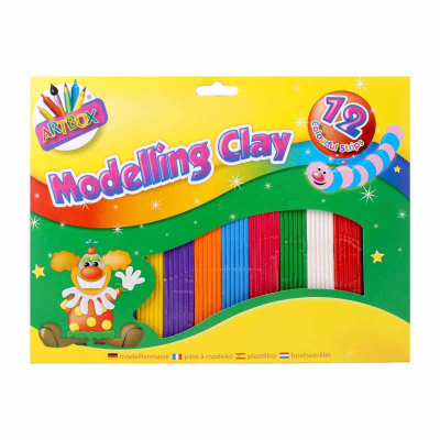 Medium Modelling Clay (12 Strips)