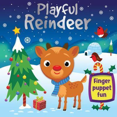 Reindeer's First Flight (Finger Puppet Board Book)