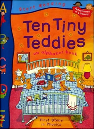 Ten Tiny Teddies (First Steps In Phonics)