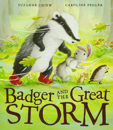 Badger and the Great Storm (Hardback)