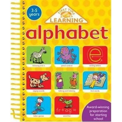 Alphabet: First Time Learning