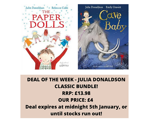 DEAL OF THE WEEK - JULIA DONALDSON BUNDLE