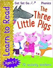 The Three Little Pigs (Learn To Read Get Set Go) Ages 5-7