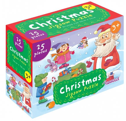 Christmas 25 Pieces Jigsaw Puzzle (Green Design)