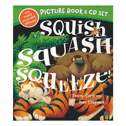 Squish Squash Squeeze! (Picture Book and CD Set)