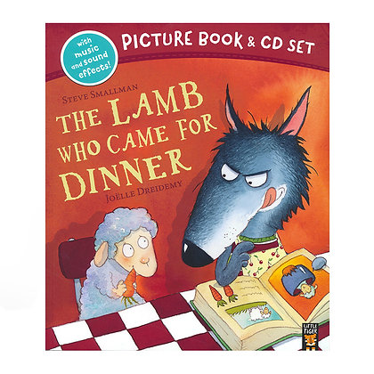 The Lamb Who Came To Dinner (Picture Book and CD Set)