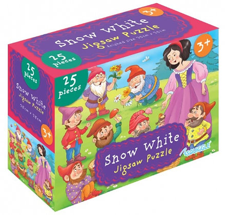 Snow White 25 Pieces Jigsaw Puzzle