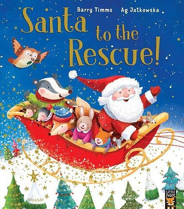 Santa to the Rescue! (Paperback)