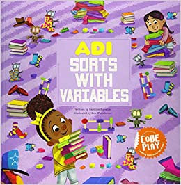 Adi Sorts With Variables (Code Play - Coding Concepts For Kids)