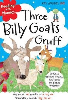Three Billy Goats Gruff (Reading With Phonics) (Hardback)